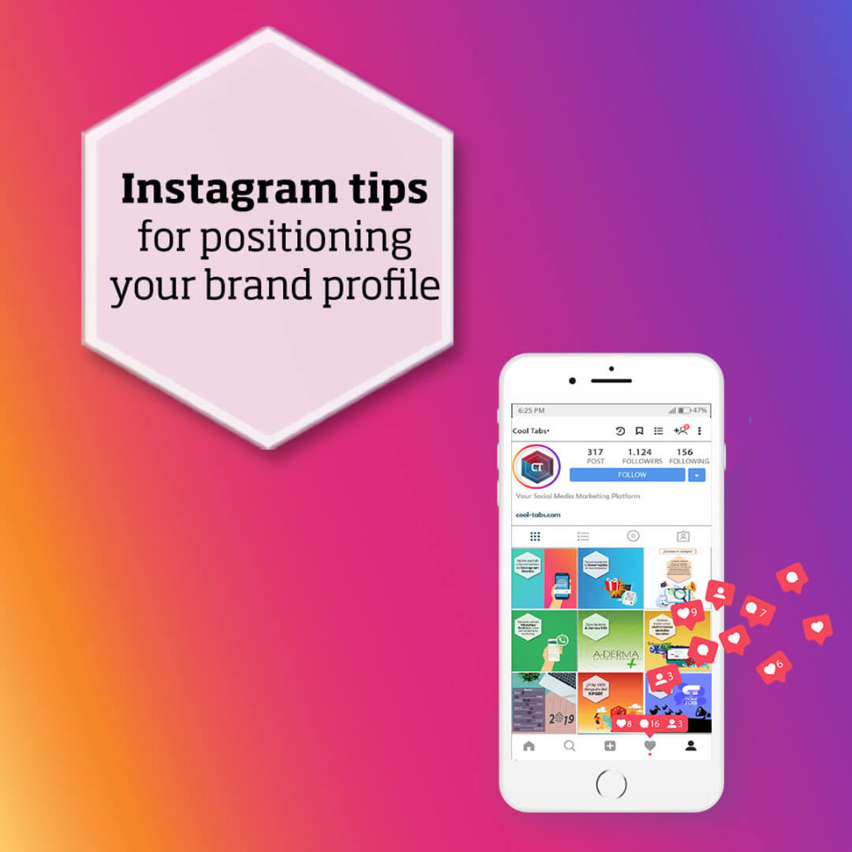 Instagram tips for positioning